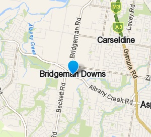 Bridgeman Downs and surrounding suburbs