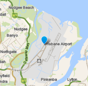 Brisbaneairport and surrounding suburbs