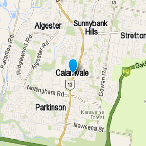Calamvale and surrounding suburbs