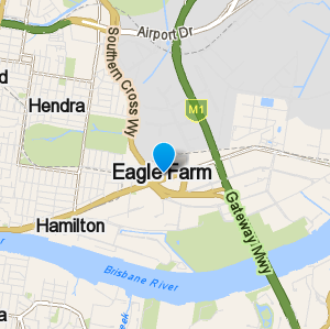 Eaglefarm and surrounding suburbs
