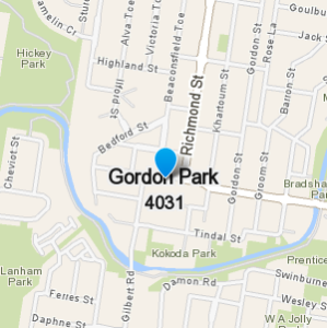GordonPark and surrounding suburbs
