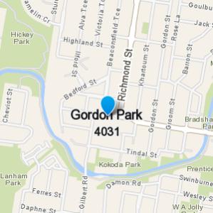 GordonPark and surrounding suburbs