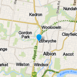 Lutwyche and surrounding suburbs