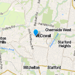 McDowall and surrounding suburbs