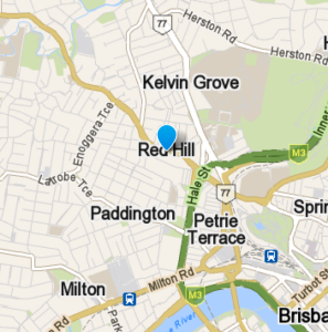 Red Hill and surrounding suburbs