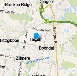 Taigum and surrounding suburbs