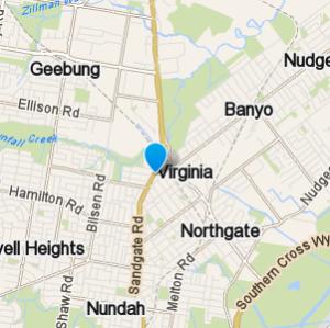 Virginia and surrounding suburbs