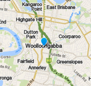 Woolloongabba and the surrounding area