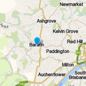 Bardon and surrounding suburbs