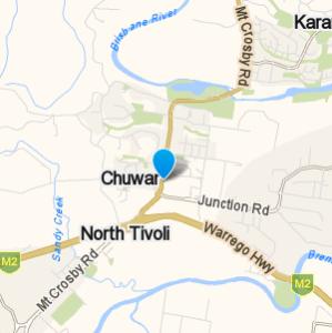 Chuwar and surrounding suburbs
