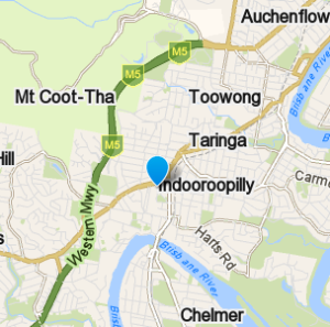 Indooroopilly and surrounding suburbs