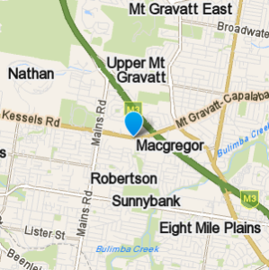 Macgregor and surrounding suburbs