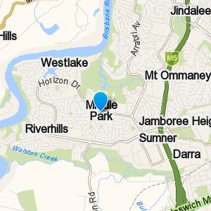 MiddlePark and surrounding suburbs