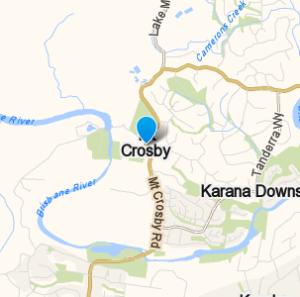 MountCrosby and surrounding suburbs