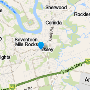 Oxley and surrounding suburbs