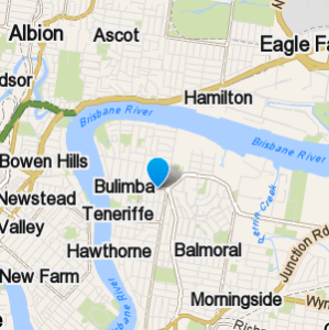 Bulimba and surrounding suburbs