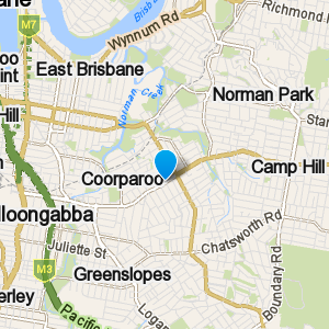 Coorparoo and surrounding suburbs