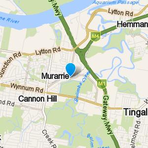 Murarrie and surrounding suburbs