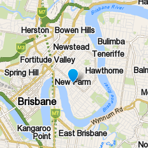 NewFarm and surrounding suburbs