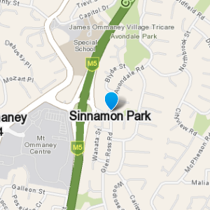 SinnamonPark and surrounding suburbs