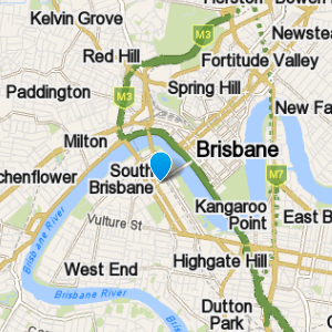SouthBrisbane and surrounding suburbs