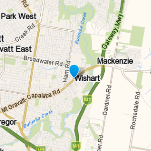 Wishart and surrounding suburbs
