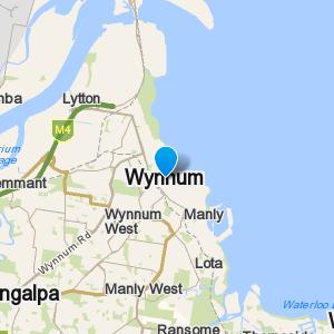 Wynnum and surrounding suburbs