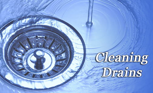 Cleaning drain pipes