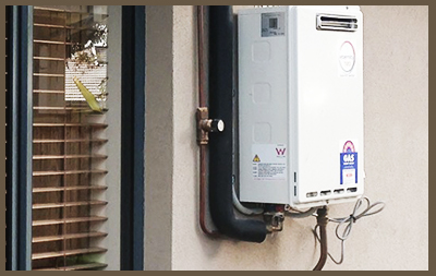 Gas Hot Water Heater System