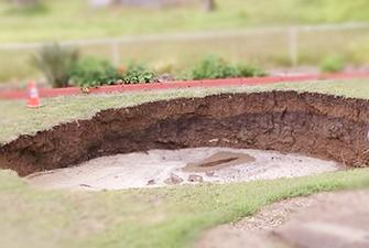 Sewer Sinkhole Damage