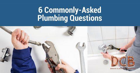 6 common plumbing questions