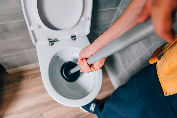 how to clear a blocked toilet